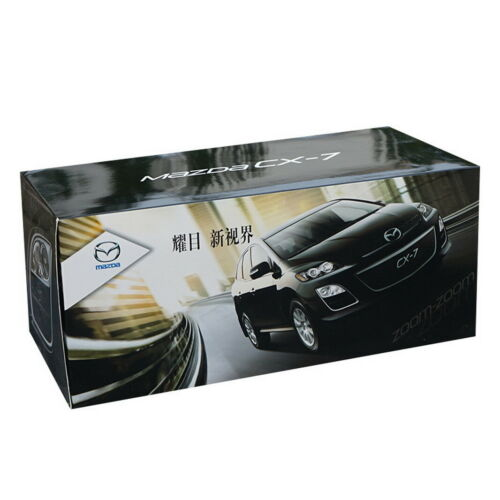 1//18 Scale Mazda CX-7 CX 7 SUV Black Diecast Car Model Collection Toy Gift