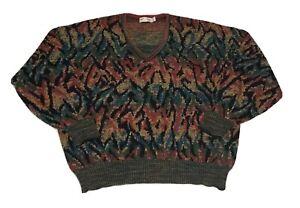 VTG-ST-Croix-Knits-Pullover-Herren-L-COOGI-Style-Biggie-Smalls-USA-Made-Bill-Bill-Cosby