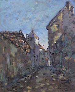 Moïse ACCAULT (c.1914-) né à Sens dans l'Yonne Louis Alexandre CABIÉ (1854-1939) - France - EBay Moïse ACCAULT (XXe s.) Gouache originale sur papier représentant une rue de village signée en bas droite Moïse Accault est né Sens dans l'Yonne. Il fut l'élve de Louis Alexandre CABIÉ (1854-1939) et membre du Salon des Artistes Franai - France