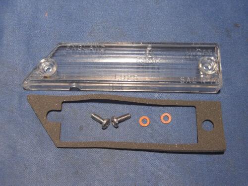 Jaguar main gauche reverse light lens s/'adapte xjs pre facelift AAU2045