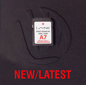 a7 2017 map update navigation sd card sync fits all ford lincoln