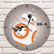 Bb-8 colore Design Vinile Record Orologio da parete arte casa ufficio negozio spostare Star Wars -1