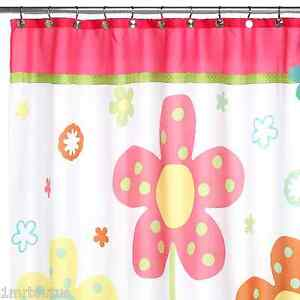 Image Is Loading Allure Dancing Flower Girl Bathroom Fabric Shower Curtain