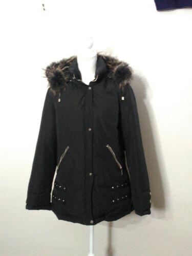 Cappuccio estraibile Nero Jacket Donna s8540 Baessge Xl Down cappuccio Con Inv wIqO805