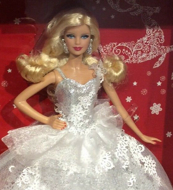 Happy Happy Happy Holiday 2013 Barbie doll NRFB Holidays Christmas 25th Anniversary 6a8f77