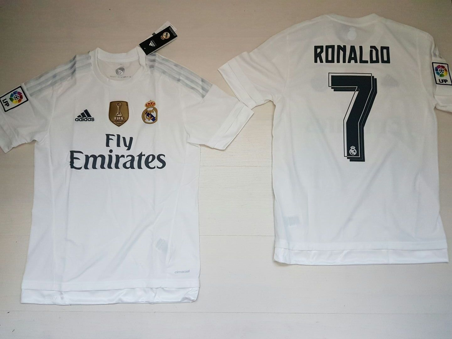JERSEY HOME REAL MADRID ADIDAS 7 RONALDO MATCH HEMD 2014 2014 2014 WORLD MEISTER PATCH  | Hochwertige Produkte