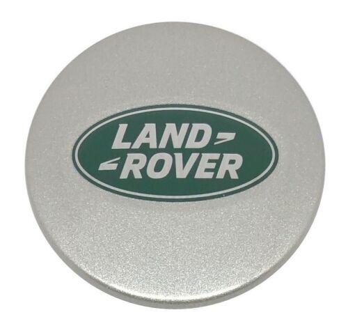 4 X ORIGINALE LAND ROVER TAPPO MOZZO Coperchio Mozzo Cerchi emblema argento NUOVO lr089427