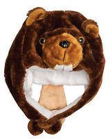 Kids Plush Critter Hats (assorted Styles)