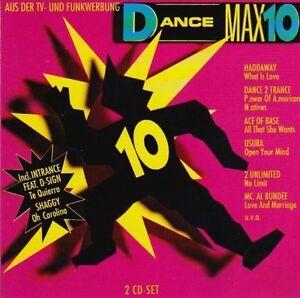 Dance-Max-10-1993-Haddaway-Dance-2-Trance-Ace-of-Base-Usura-2-Unl-2-CD