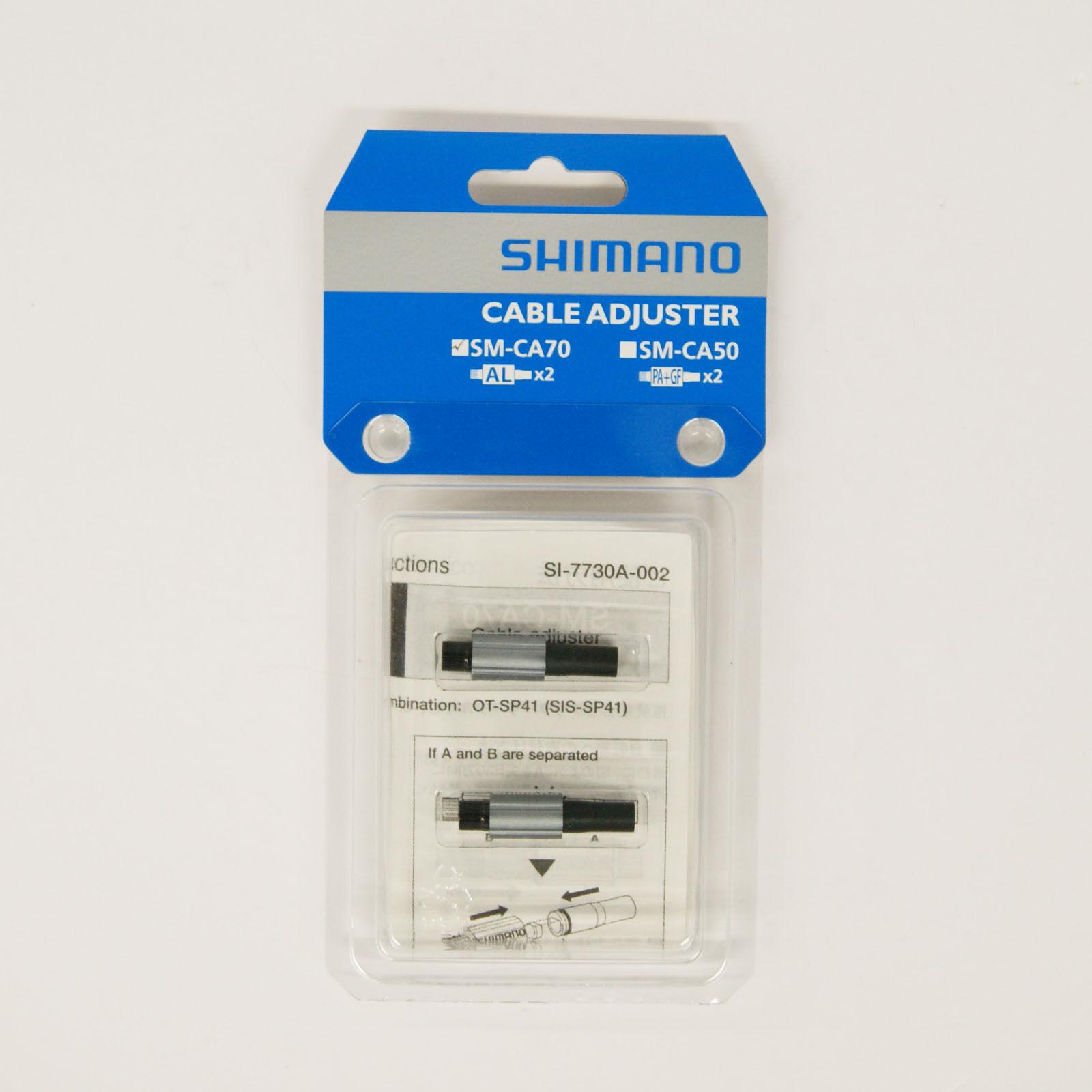Shimano SM-CA70 Cable en Línea Ajustador para para para Shift Cable ISMCA70P  entrega rápida