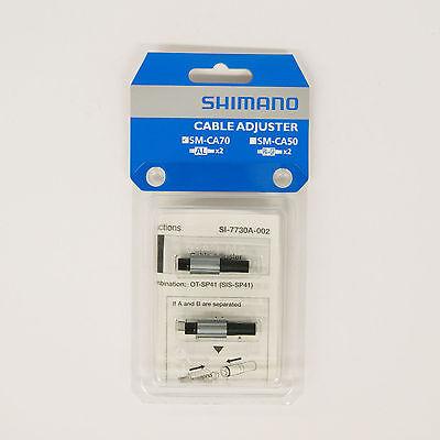 Shimano Spares SM-CA70 Gear Cable Adjuster Silver
