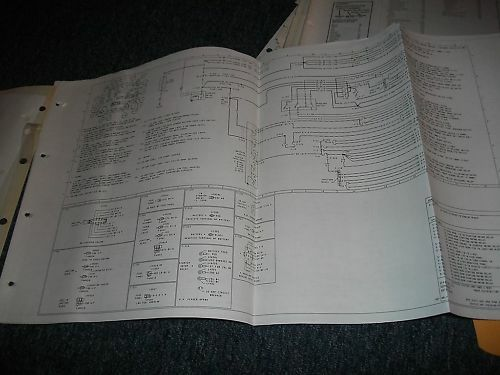 1985 Ford Escort Lynx Wiring Diagrams Manual Set Oem