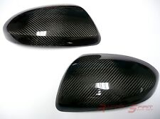REAL 3D GLOSSY CARBON FIBER SIDE MIRROR COVER CAP 07-12 MAZDA6 GH MAZDASPEED JDM