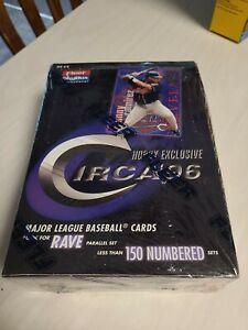 1996 Fleer SkyBox Circa Baseball Unopened Sealed Hobby Box w/ 24 Packs