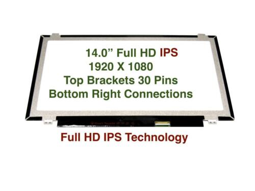 "14.0/"" FHD IPS laptop LCD Screen f Lenovo thinkpad T480S MATTE NON-TOUCH 01YN103"