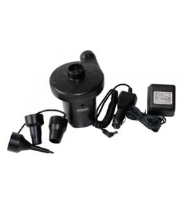 Vango Wiederaufladbar Pumpe Bläst + Entleeren Auto Adapter