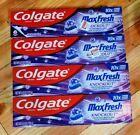 (4) Colgate Max Fresh with Whitening Knockout Mint Fusion