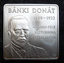 1000 forint Banki Donat's Water Turbine  2009  Commemorative Coin BU