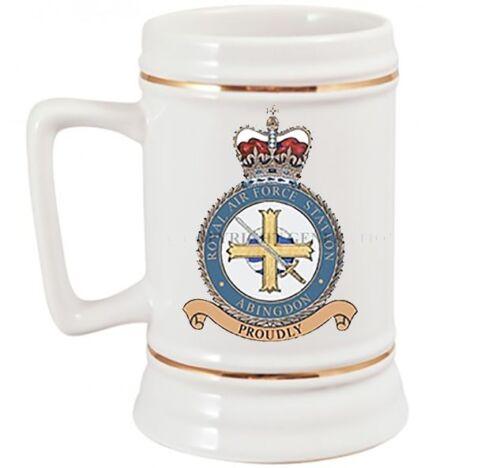 ROYAL AIR FORCE ABINGDON BASE BEER STEIN