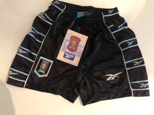 "New with Tags Classic Reebok Aston Villa shorts 90's 28"""