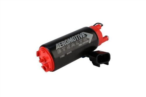 AEROMOTIVE 11542 340LPH STEALTH IN-TANK E85 FUEL PUMP OFFSET INLET//INLINE OUTLET