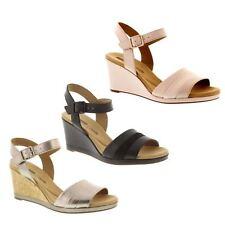 df06c829331 Women s Clarks Lafley Aletha Strap Sandals in Gold - Size UK 7   EU ...