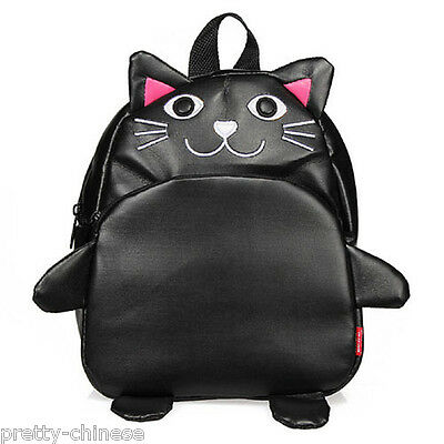 Cat Baby Kids Cartoon Animal Childrens Boys Girls Backpack School Bag Rucksack