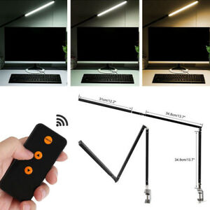 Image Is Loading Long Arm Desk Lamp Work Reading Clip On