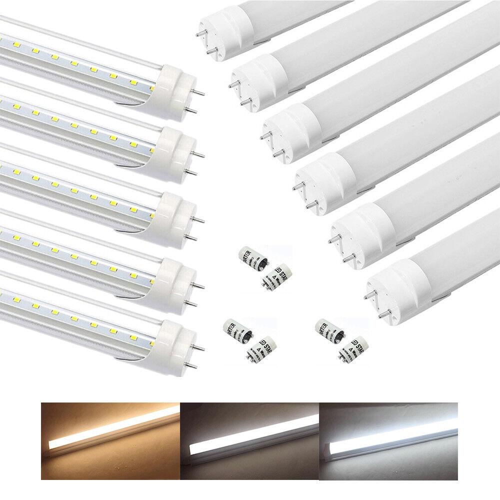 60 90cm 120cm 150cm LED Tube T8 G13 Lumière Barre Néon Lampe Weiß Froid Chaud