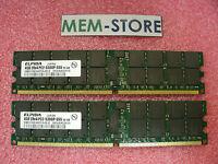 483403-b21 8gb 2x4gb Pc2-5300 Memory Hp Bl260c 465c G5