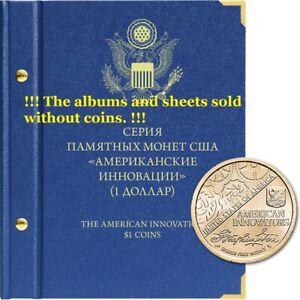 american innovation coin album