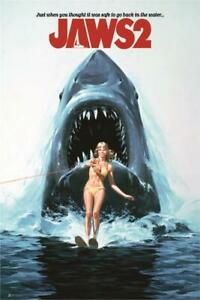 JAWS-2-ONE-SHEET-MOVIE-POSTER-24x36-CLASSIC-841