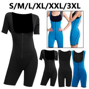 f5ff479fe2e Womens Shapewear Full Body Sweat Shaper Weight Loss Gym Sport Sauna ...