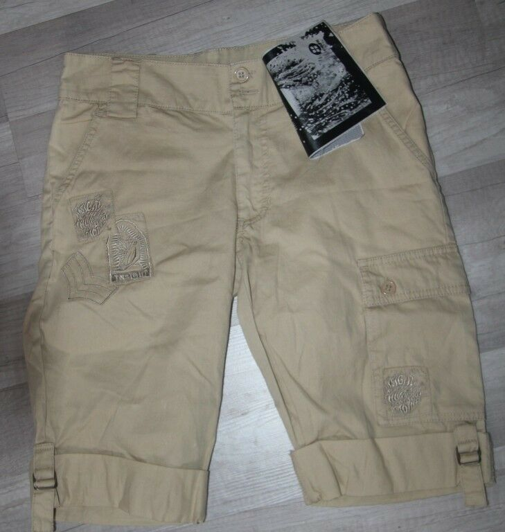 INSIGHT - Short Beige Rollup Raven - clair - 34-36 FR neuf