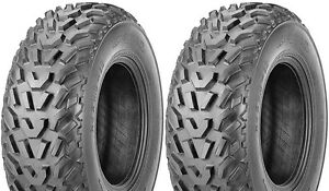 Pair-2-Kenda-Pathfinder-23x8-11-ATV-Tire-Set-23x8x11-K530-23-8-11