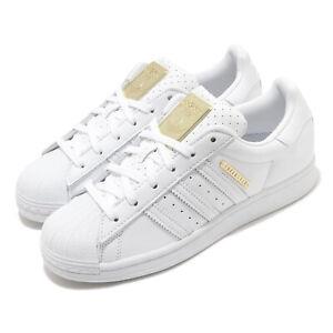 adidas-Originals-Superstar-W-White-Gold-Women-Classic-Casual-Shoe-Sneaker-FW3713