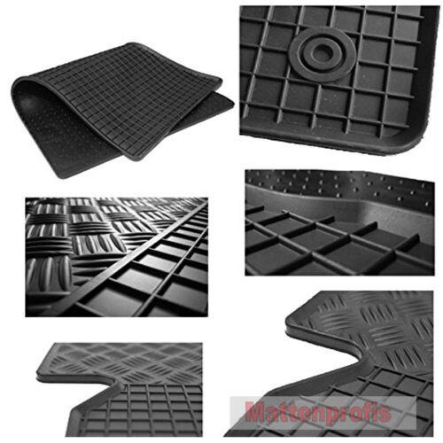 Gummimatten Gummifußmatten 4-teilig für Smart Forfour 453 W453 ab Bj 11//2014