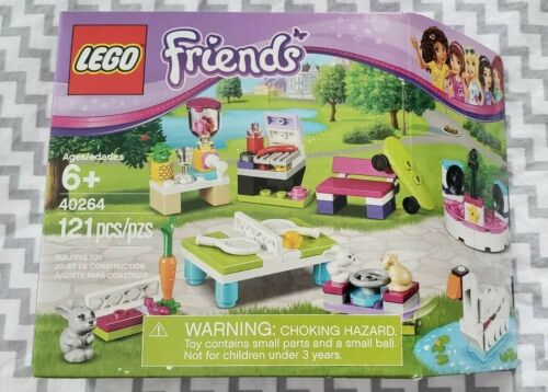 LEGO Friends Build My Heartlake City Accessory Set 40264 RARE Swan Table Tennis