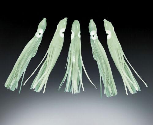 floureszierend 5 Stück Octopus Luminous selbstleuchtend 12cm