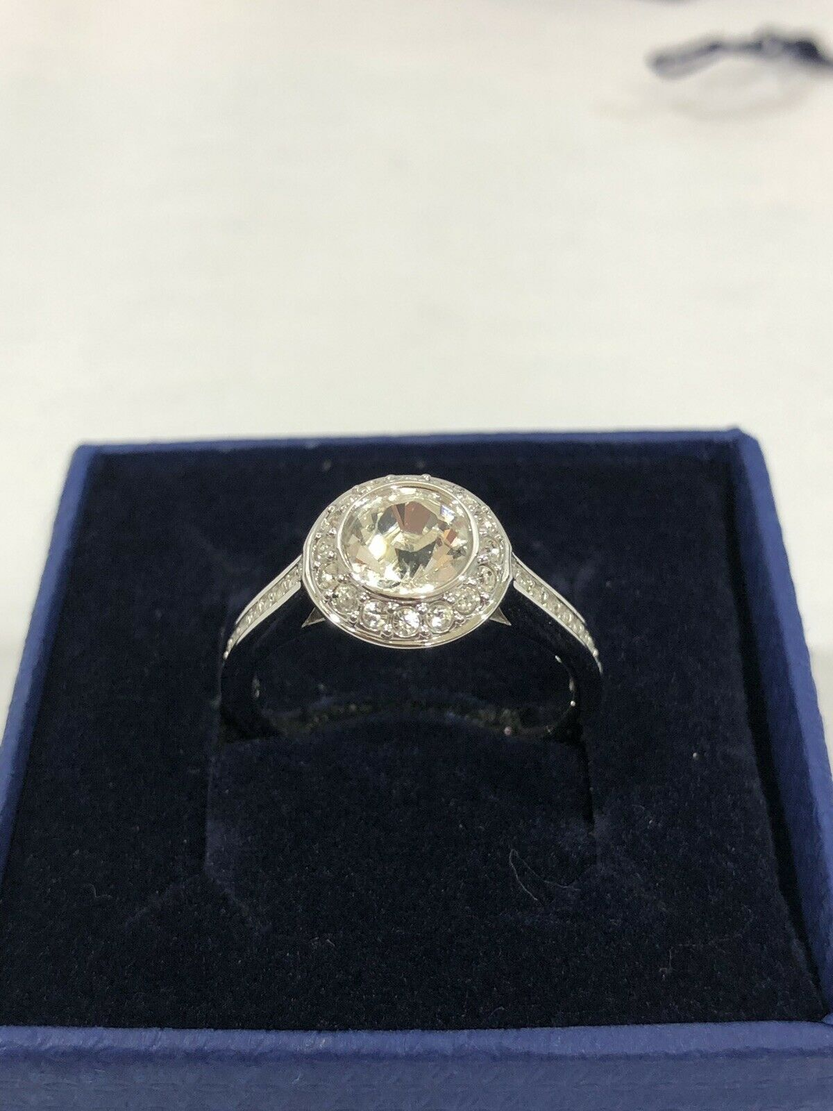 Swarovski Crystal Angelic Ring 1081951 Size 58 -US Size 8 New in Box
