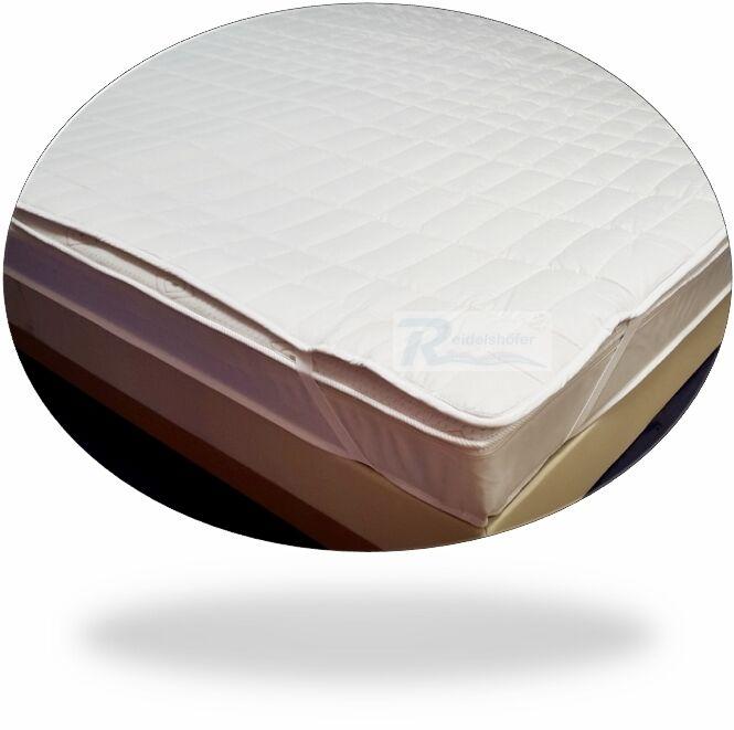 Schutzauflage für Wasserbetten, Wasserbett Auflage, Bezug, 100% Baumwolle