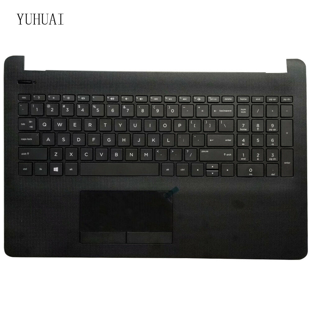 New HP 250 G6 255 G6 256 G6 Keyboard US Black