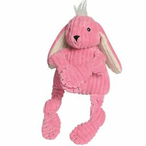 Hugglehounds KNOTTIE BUNNY Squeaker Dog Toy LARGE