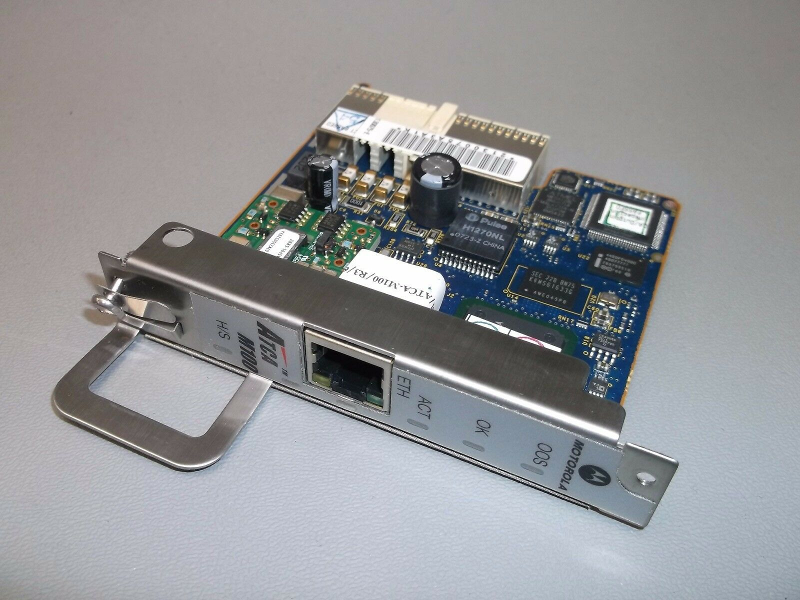 MOTOROLA CENTELLIS ATCA-M100 MANAGEMENT CONTROL CARD ***30 DAY WARRANTY***. Available Now for 199.99