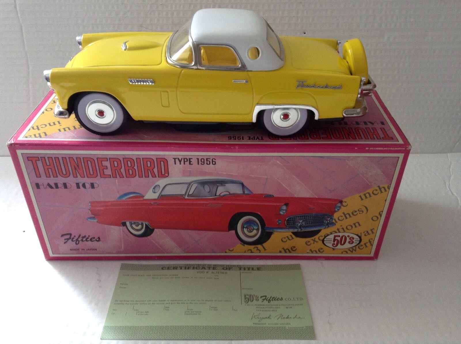 Années 50 Co. Ltd Japon Ford Thunderbird Thunderbird Thunderbird 1956 Très Bon État En Boîte e6ffcc