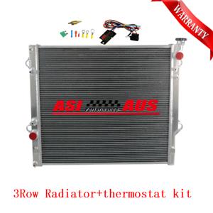 3Row-Radiator-For-Toyota-Prado-Petrol-120-Series-2-7-4-0-2002-2009-Thermostat