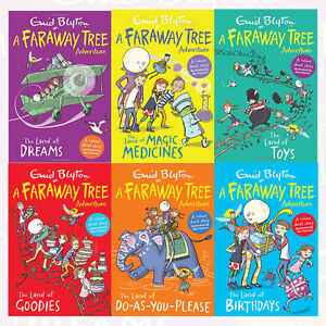 Enid-Blyton-The-Magic-Faraway-Tree-Adventure-Collection-6-Books-Set-Pack-NEW