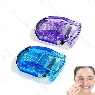 Mini Portable Curling Eyelash Eye Lashes Curler Manual Color Random