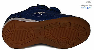 KANGAROOS Schuhe BabyschuheTurnschuhe Blau non marking sole Klettverschluss NEU