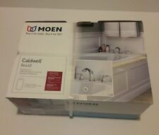 NEW Moen Caldwell Chrome 2-Handle Fixed Deck Mount Bathtub Faucet 86440